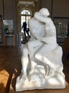 El Beso, Rodin, mármol, escultura, Biron