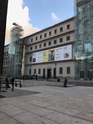 Entrada al Reina Sofía Edificio Sabatini en Madrid