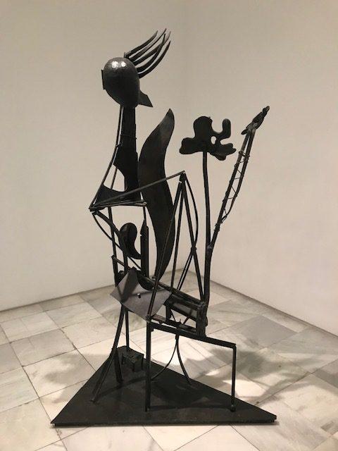 La Femme ou Jardín. Pablo  Picasso.
