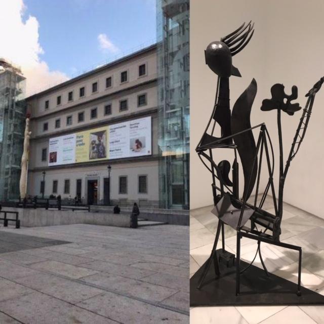 Museo Reina Sofía, colección permanente Madrid