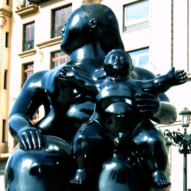 La Maternidad de Botero Oviedo