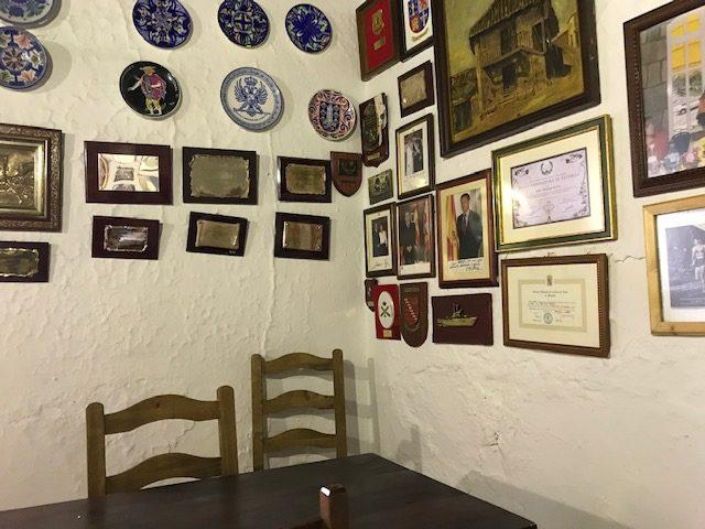 Detalle casa Maruja en Castrillo de los Polvazares Leon Cocido maragato en Casa Maruja