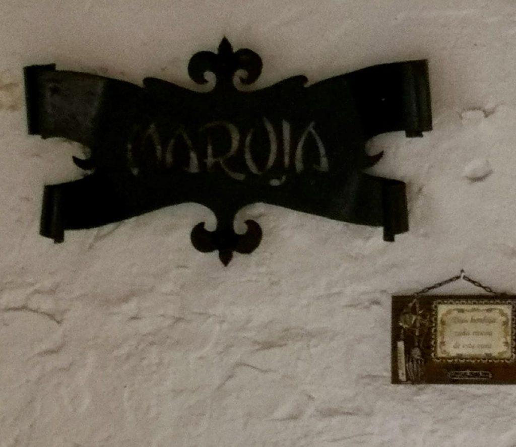 CCasa Maruja en forja en Castrillo de los Polvazares Leon Cocido maragato en Casa Maruja