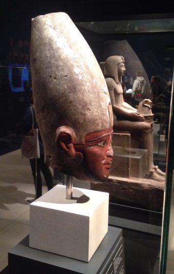 Mentuhotep II en exposición en Caixa Forum