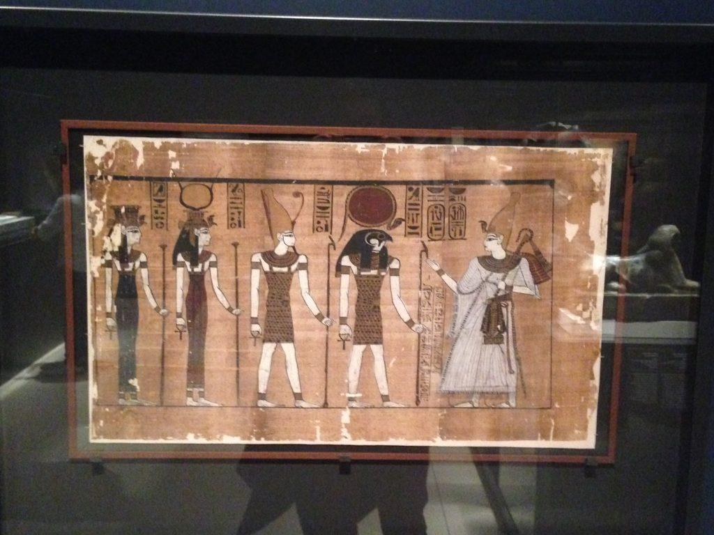 El Gran Papiro en exposición en Caixa Forum