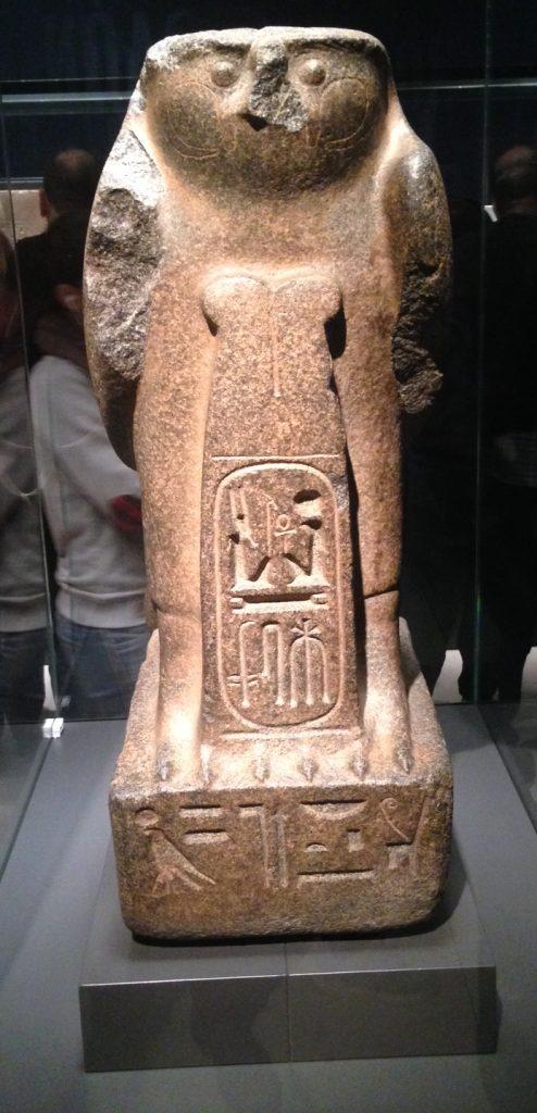 Dios Re-herakhty en exposición en Caixa Forum