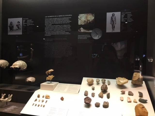 Utensilios de piedra en los yacimientos de la Sierra de Atapuerca