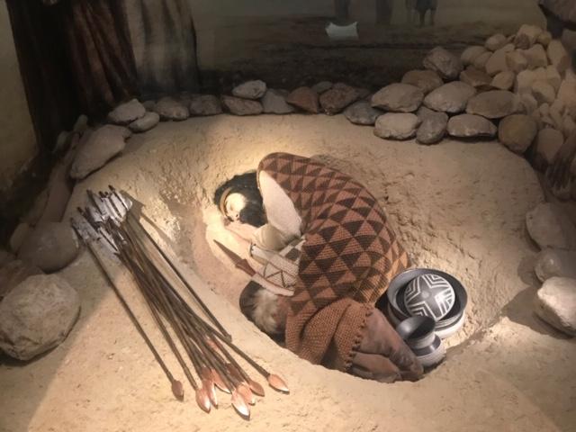 Tumba guerrero. Museo Arqueológico Nacional MAN
