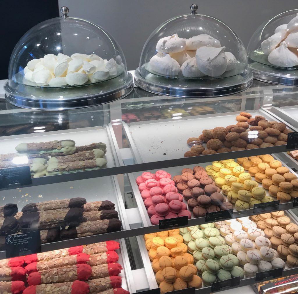Macarons en pastelería Kuyt Amsterdam