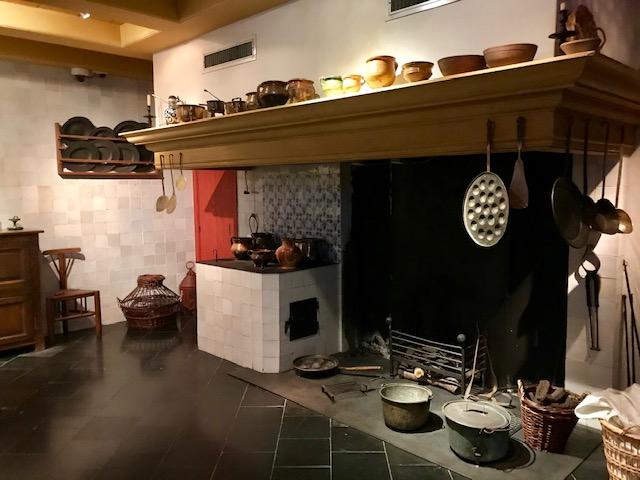 Planta baja donde ubica la cocina en la Casa de Rembrandt