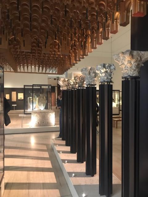 capiteles sobre columnas de mármol de la Mezquita de Córdoba MAN