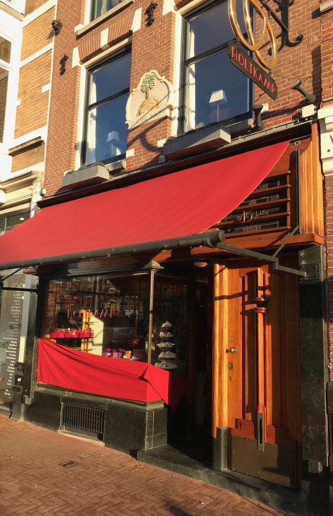 Cafetería-pastelería-bombonería por excelencia en Amsterdam