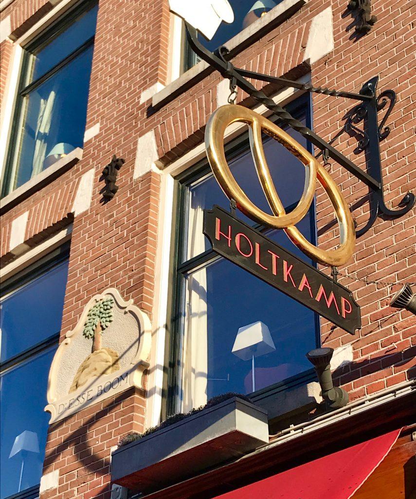 Patisserie Holtkamp en Amsterdam.