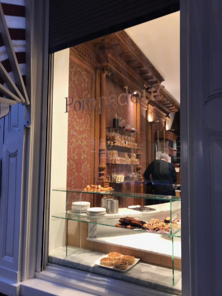 Cafetería, pastelería, bombonería excelente en Amsterdam