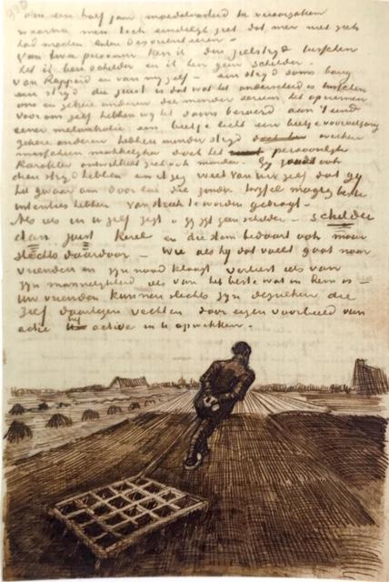 Carta de Vincent Van Gogh a su hermano Theo