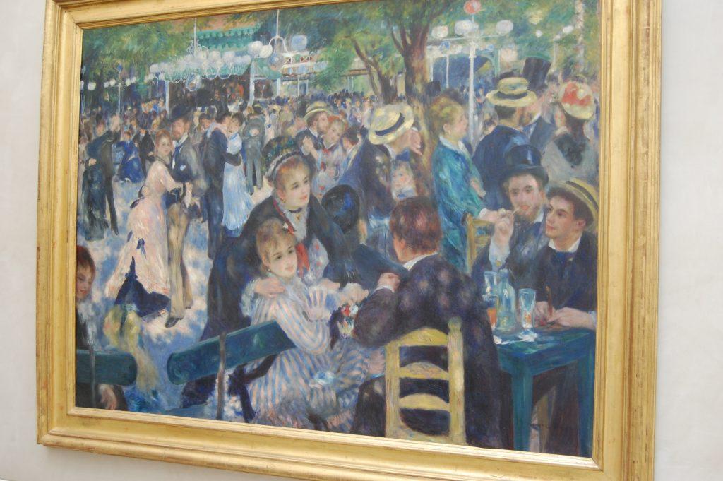El Baile de Moulin de la Galette, Renoir en Museo D'Orsay