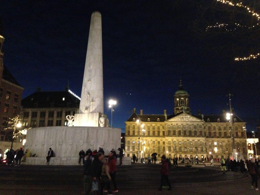 Plaza Dam Obelisco Escapada de fin de semana a Amsterdam