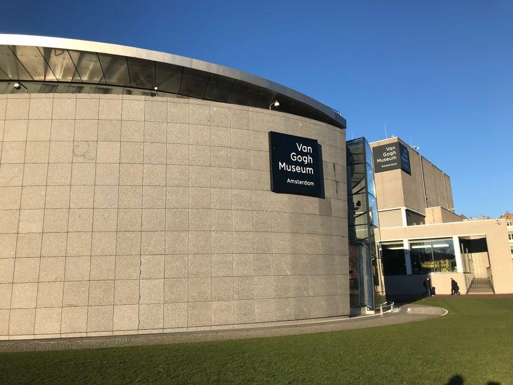 Lateral Museo Van Gogh en Amsterdam