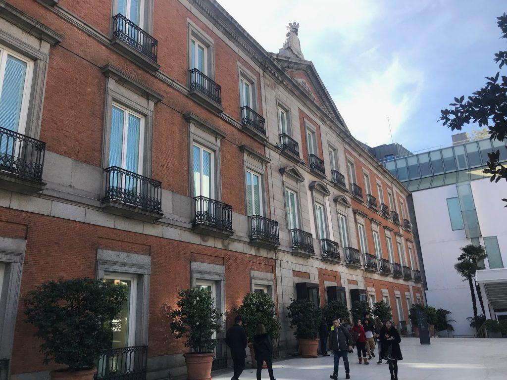 Entrada  Thyssen-Bornemisza en Madrid