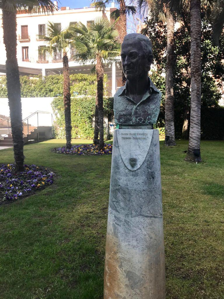 Jardin Museo Thyssen-Bornemisza en Madrid