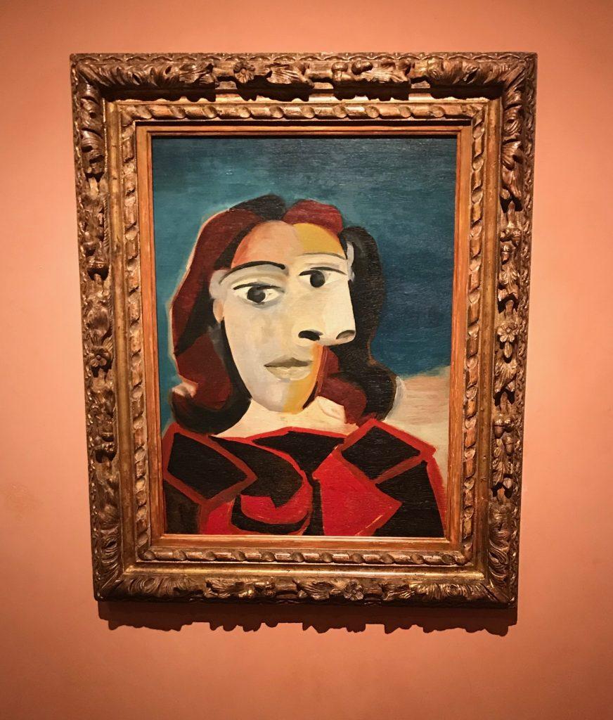 Retrato de Dora Maar 1939. Pablo Picasso