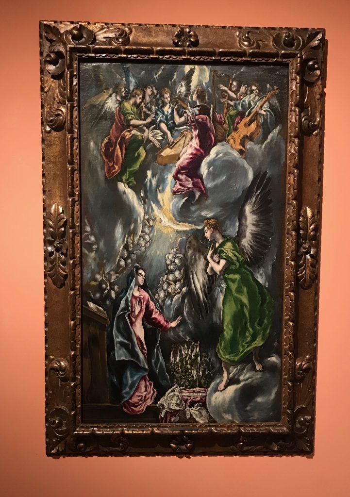 La Anunciación. El Greco 1576