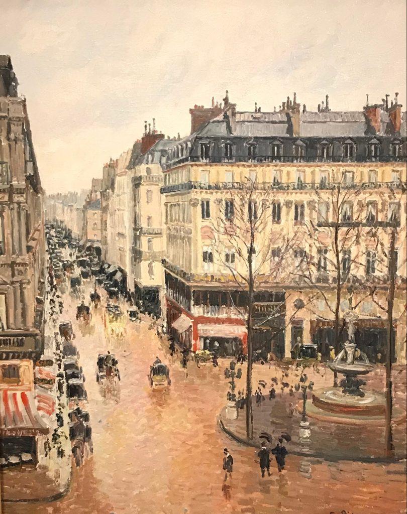 Rue de Saint-Honoré por la tarde