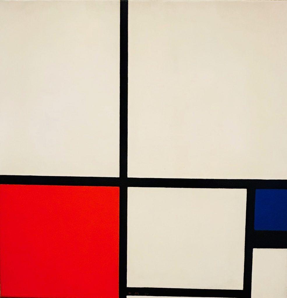 Composición de colores. Piet Mondrian