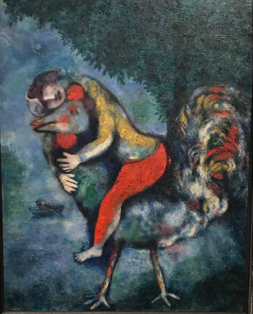 El Gallo. Chagall