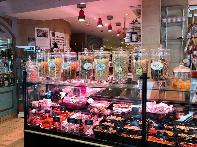 Puesto en Lyon gastronómico visitas clave