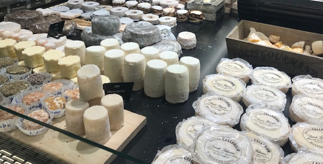 Variedad quesos franceses