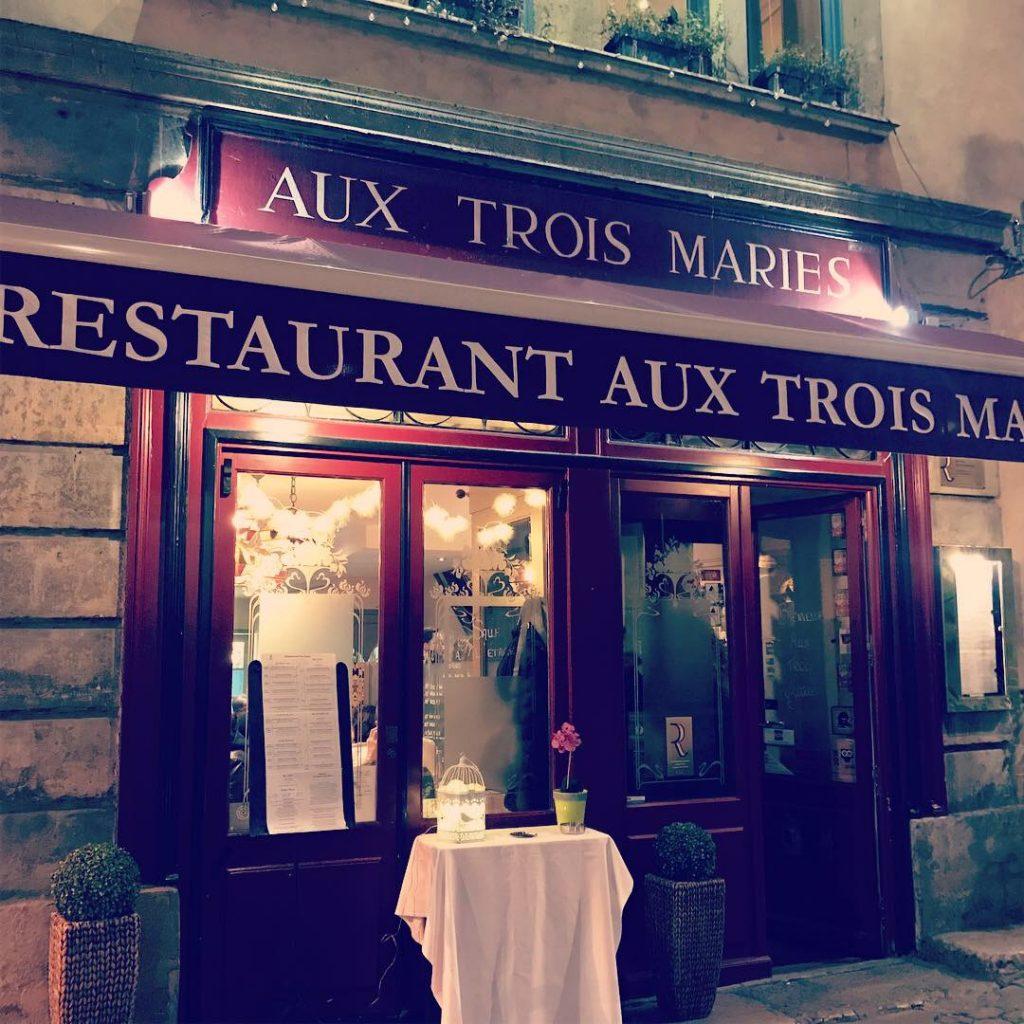 Restaurante Aux Trois Maries en Lyon