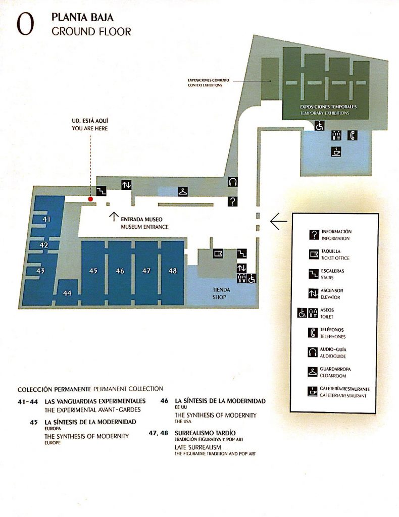 Planta baja del Thyssen Madrid