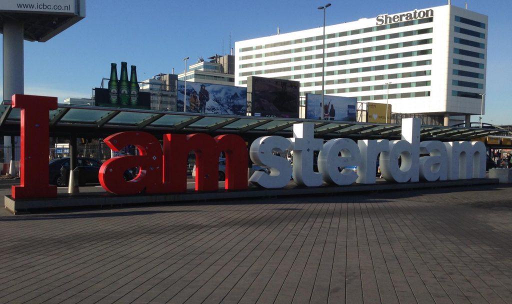 I love Amsterdam aeropuerto.Escapada de fin de semana a Amsterdam