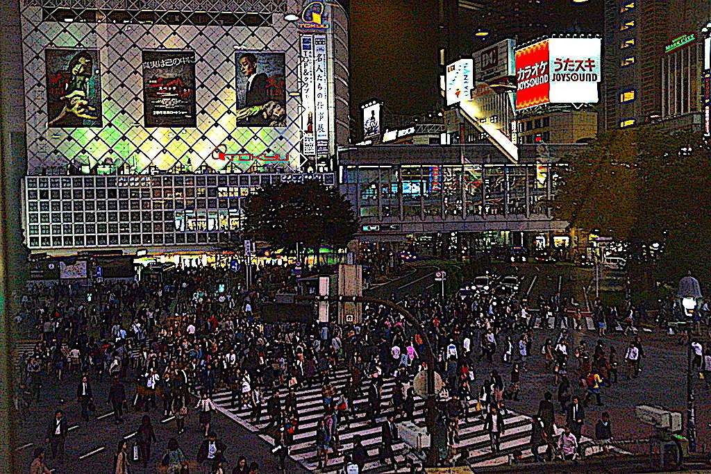 Cruze en Shibuya Tokio peatones Japón un viaje inolvidable