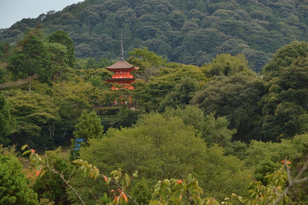 Templo Kiyomizudera, Patrimonio de la Humanidad por UNESCO y nominado a ser una de las siete maravillas del mundo