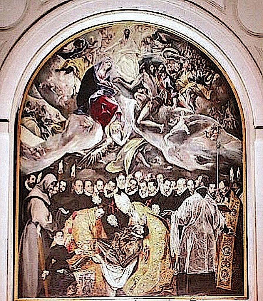 Entierro Conde Orgaz El Greco en que ver en Toledo