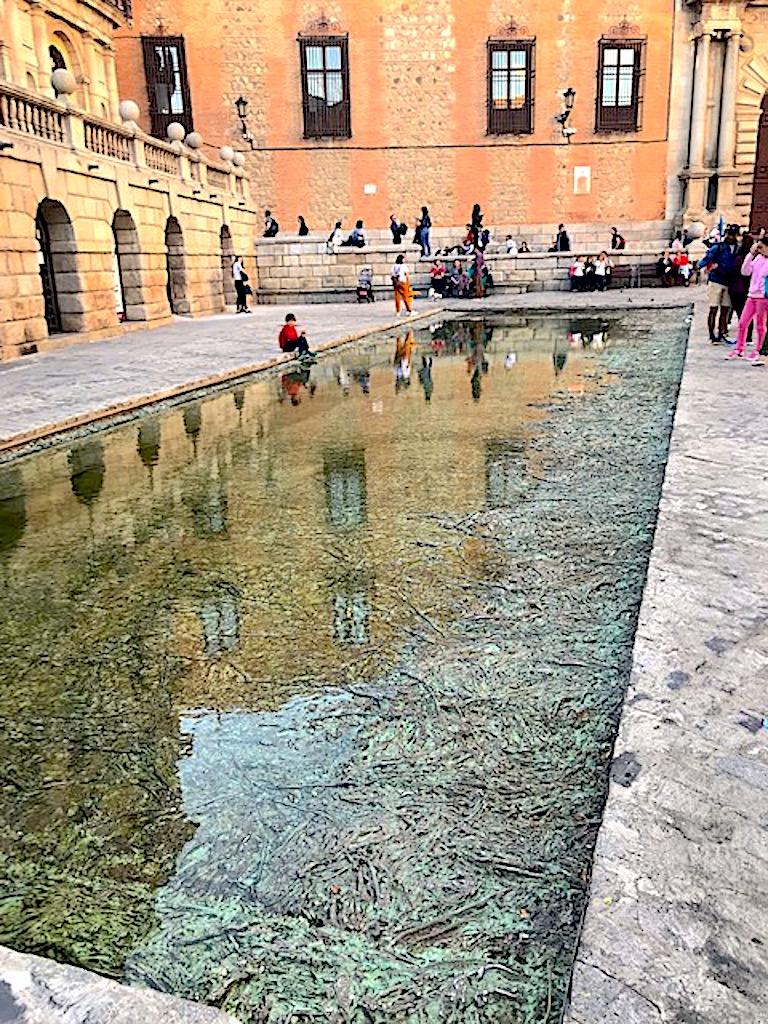 Estanque Cristina Iglesia Que ver en Toledo España