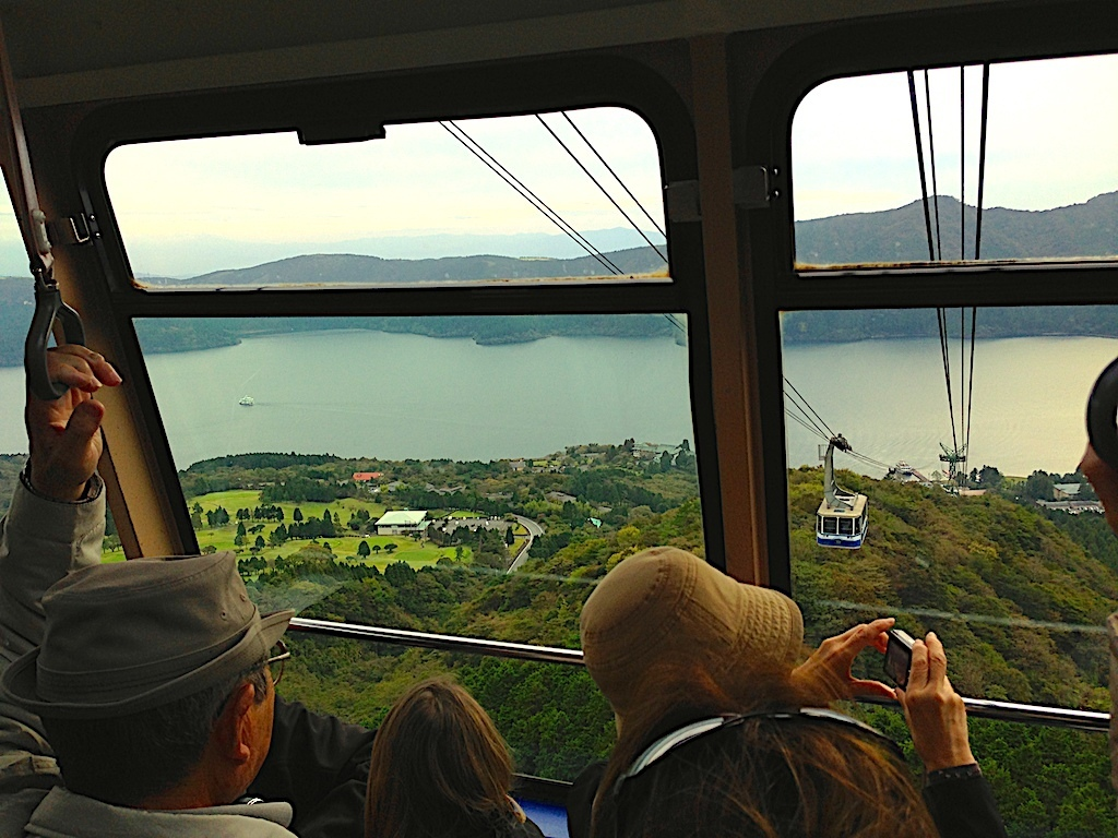 Lago Ashi Hakone teleférico al Monte Komagatake