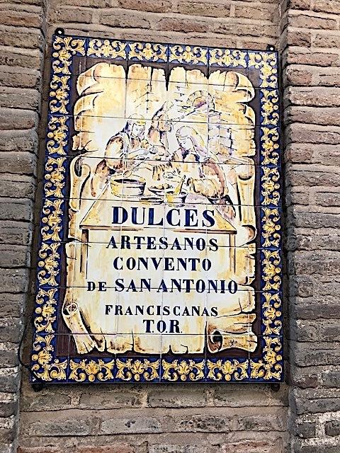 Placa San Antonio Toledo