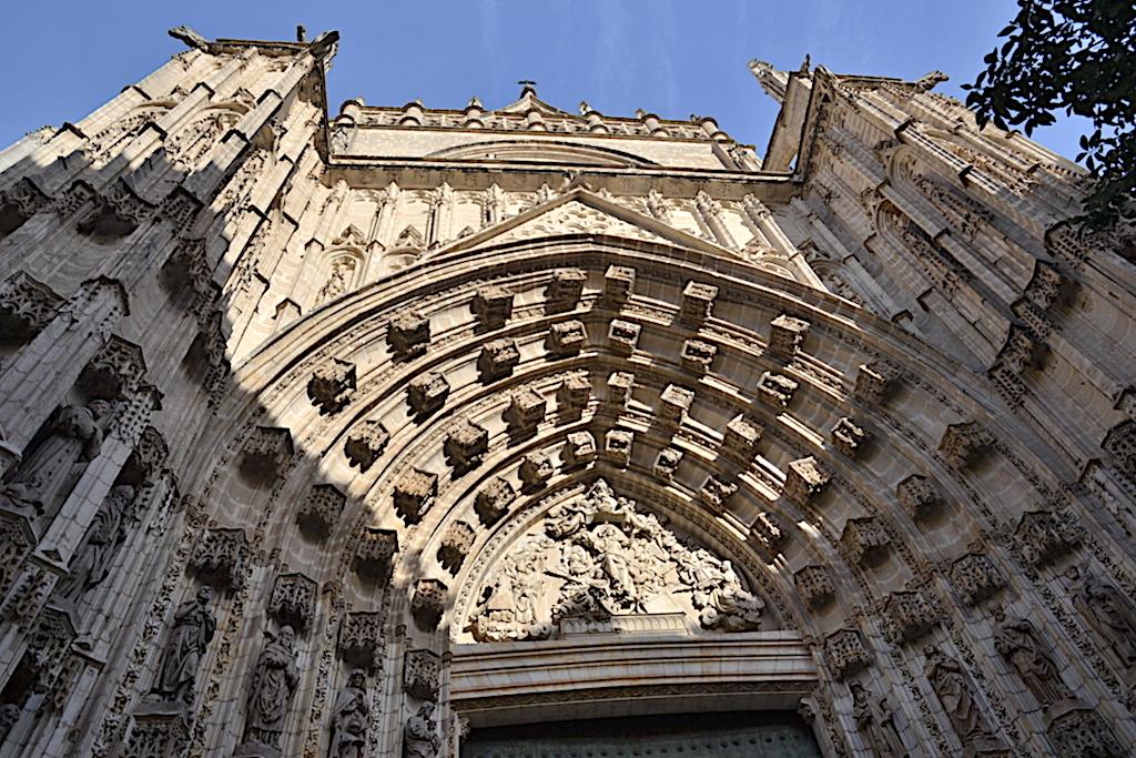 Puerta de entrada Catedral de Sevilla