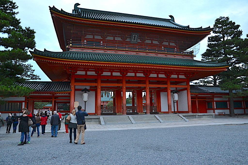 Santuario de Heian Japón