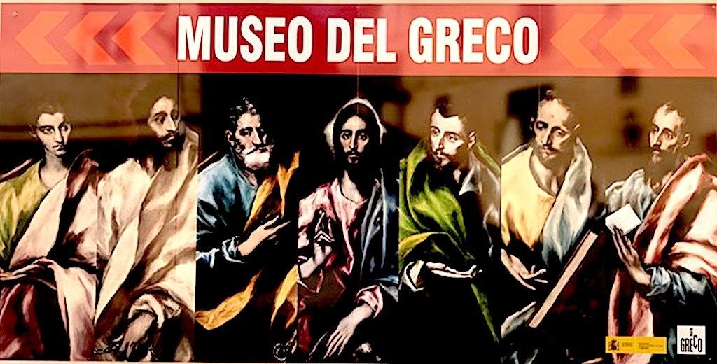 Cartel museo Greco