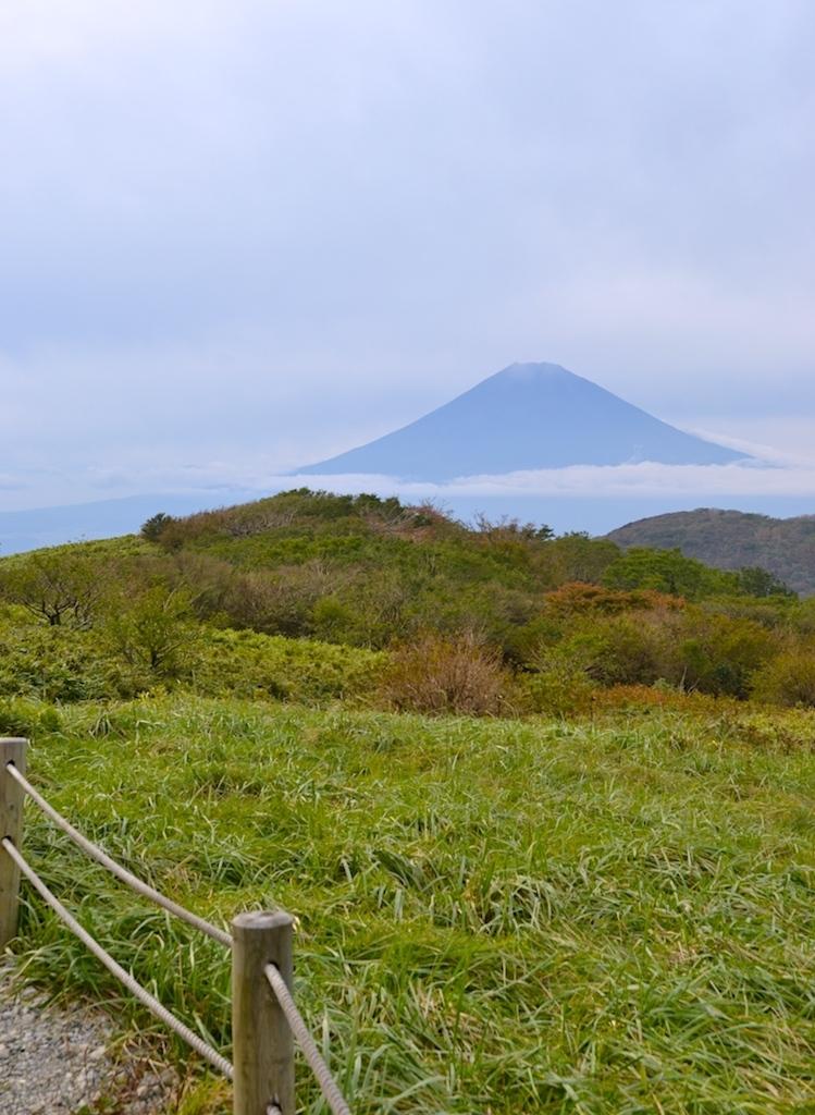 Vista del Monte Fuji Japón