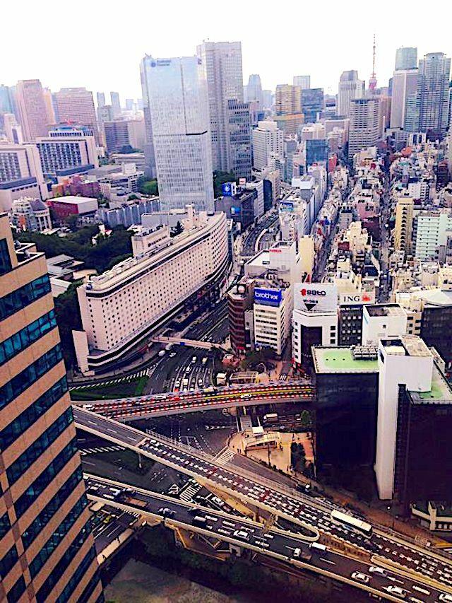 Vista tejados Edificios Japón un viaje inolvidable