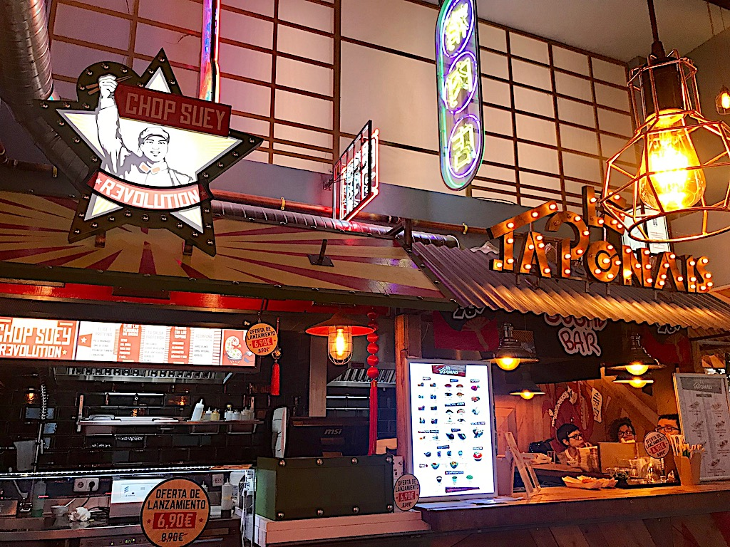 Le Japonais y Chop Suey