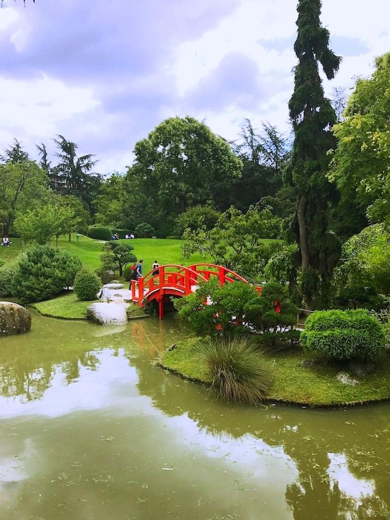 El Jardín Japonés es una réplica de los existentes en Kioto