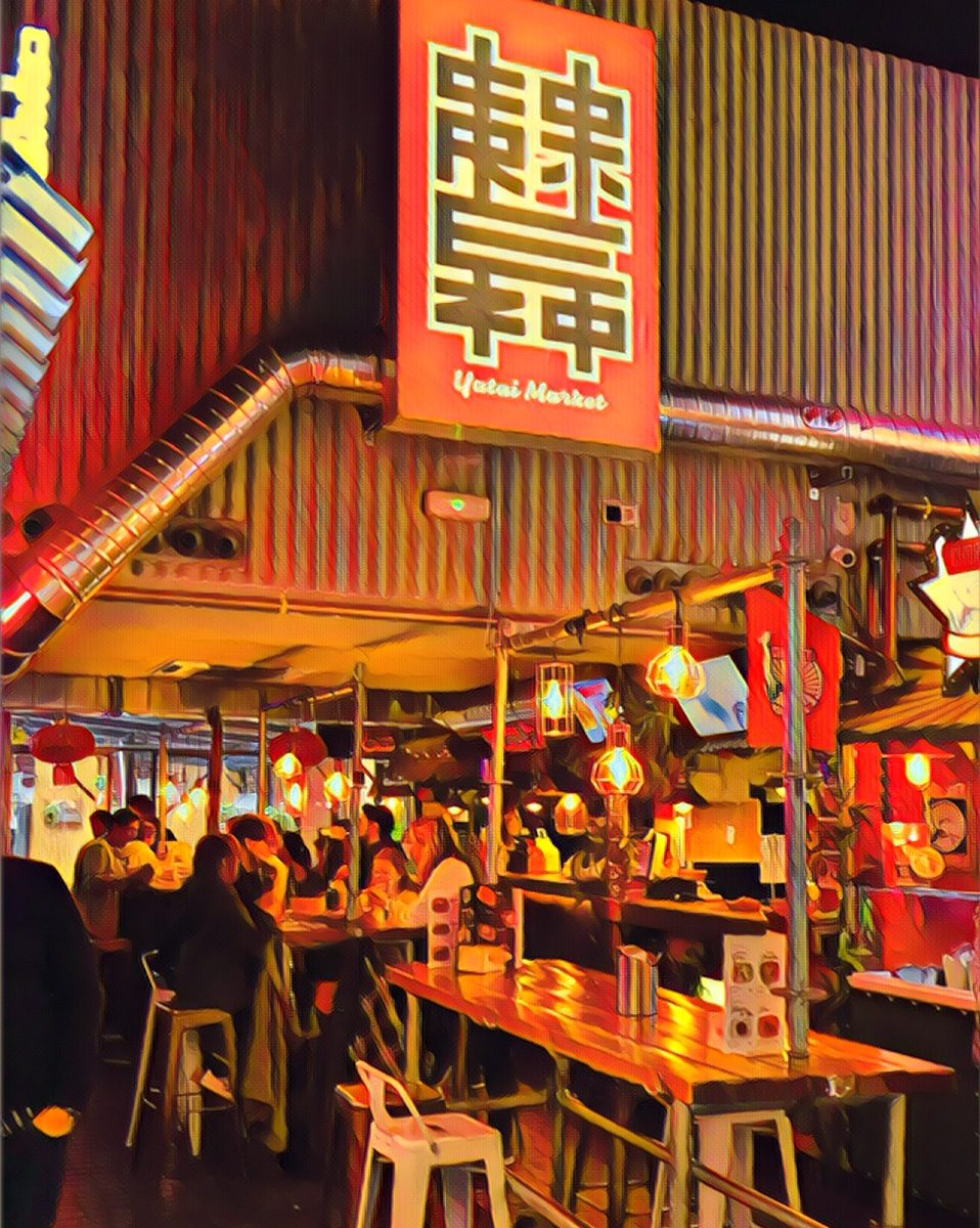 Yatai Market Madrid mercado asiatico