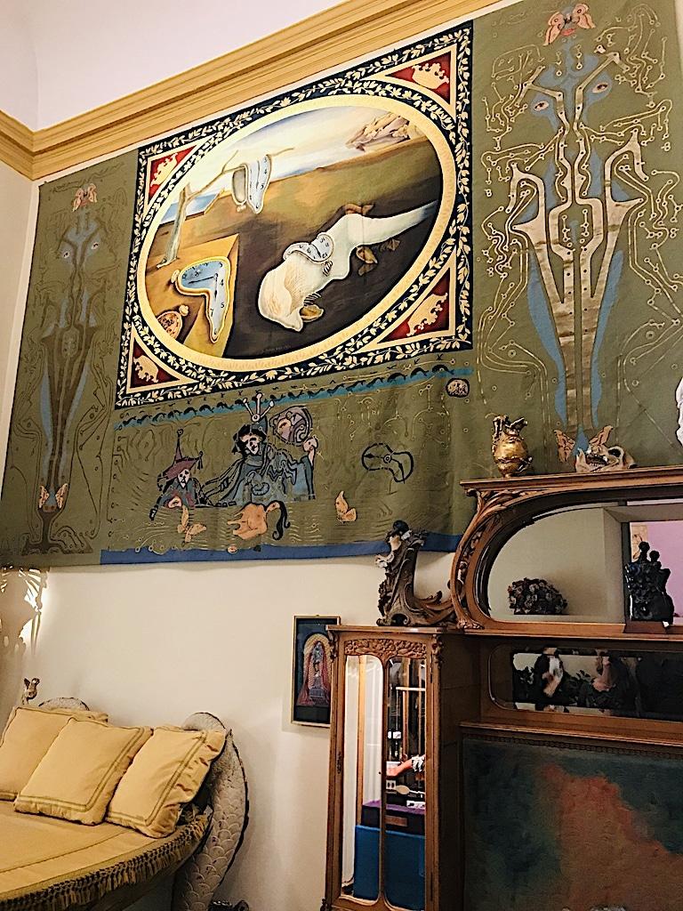 Detalle habitacion Casa Museo Dalí Cadaqués y Portlligat