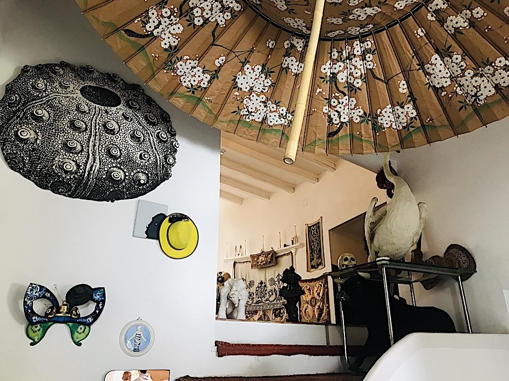 Cisnes y objetos pinturas Casa Museo Dalí Cadaqués y Portlligat